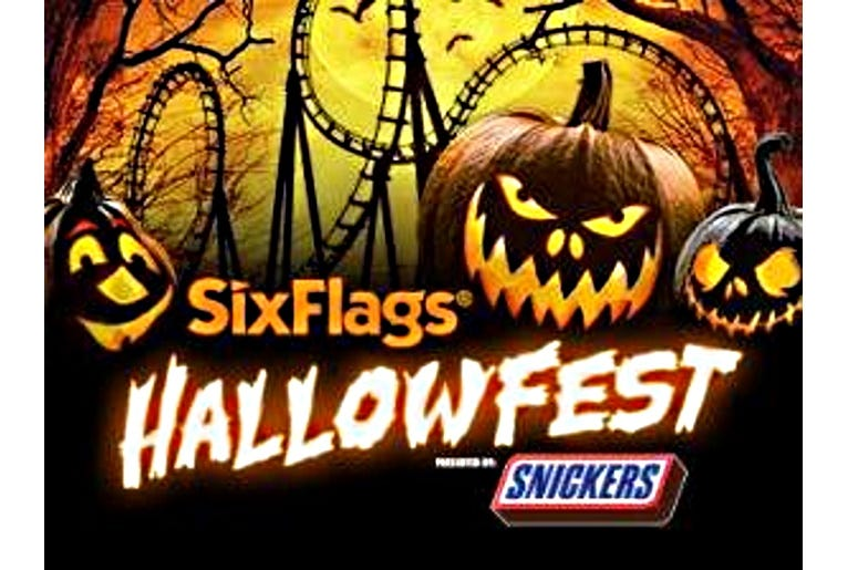 Six Flags America Hallowfest