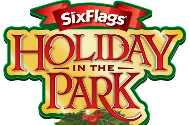 Six Flags America Holiday in the park