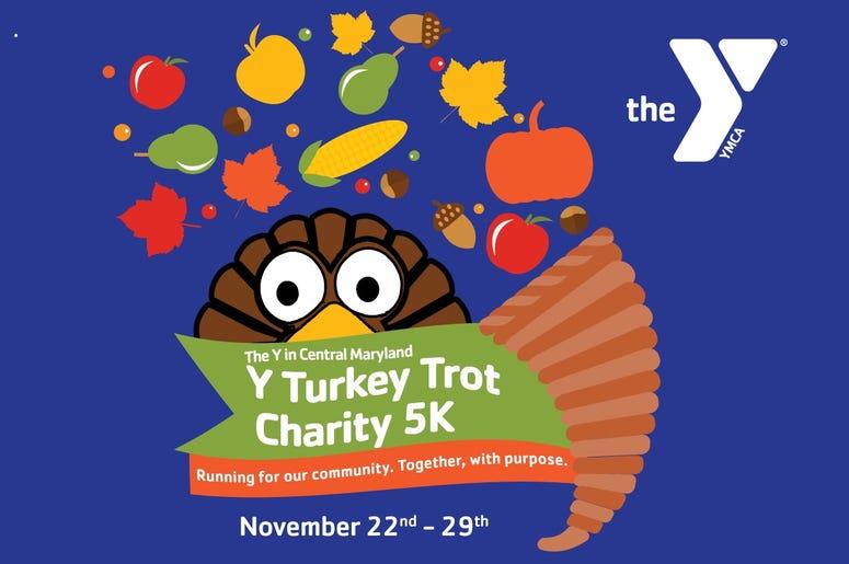 The Y Turkey Trot Charity 5K Logo 2020
