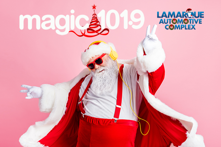 Christmas Music on Magic 101.9 with Lamarque Automotive Complex