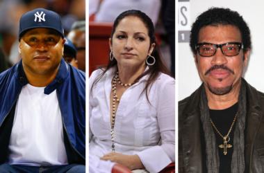 Rapper/actor LL Cool J, Singer/actress Gloria Estefan, Musician Lionel Richie