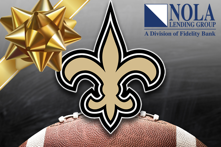 Saints tickets from Nola Lending Group
