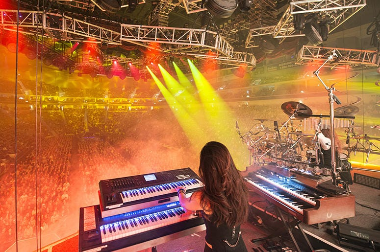 Trans-Siberian Orchestra view from stage
