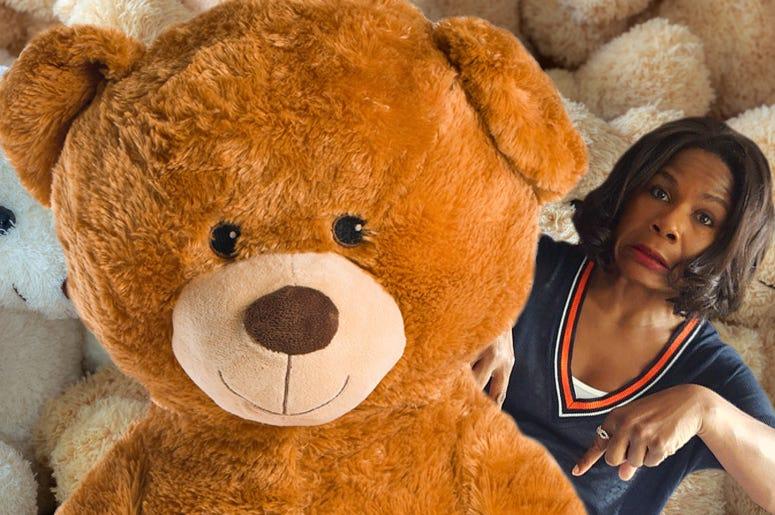 ramona hates giant teddy bears