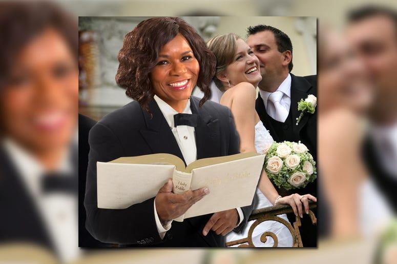 Ramona Holloway performed marriage ceremony