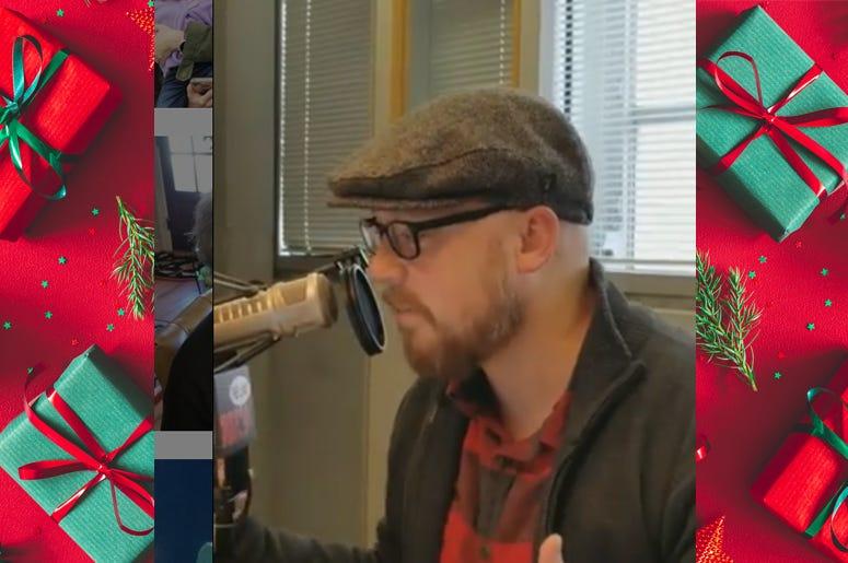 bandy christmas gift newsboy hat