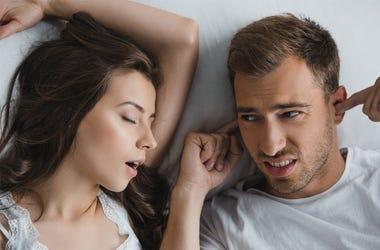 women snoring trends
