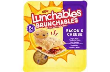 Brunchables with bacon and cheese