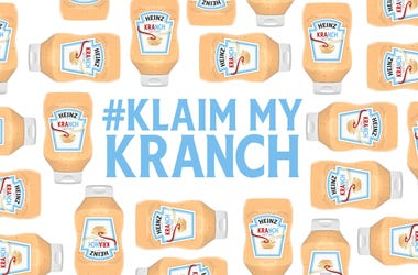 Bottles of Heinz Kranch