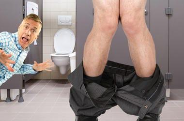 matt caught bathroom Kohls