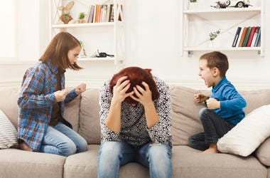 the four phases of parenting