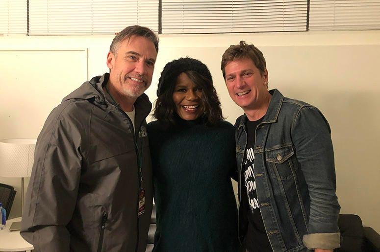 Matt & Ramona With Rob Thomas