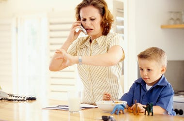 Saying 'hurry up' to kids is not working