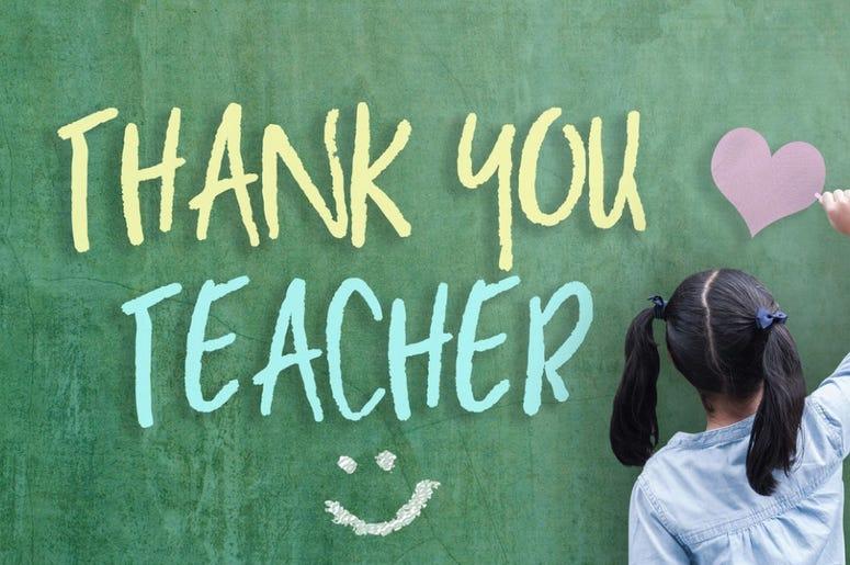 Thank you teacher