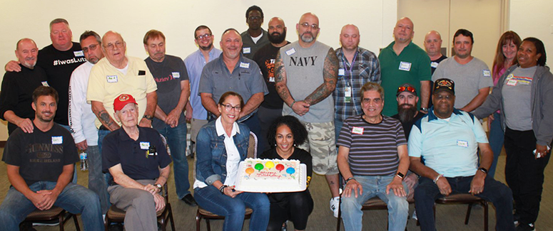 Lutz Buddy Up Social Club Celebrates a Member's Birthday