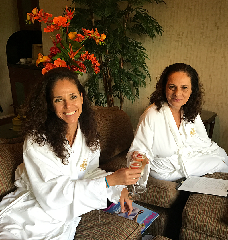 Can't think of a better way to spend my birthday than with my sister at the Spa at Lago Mar!