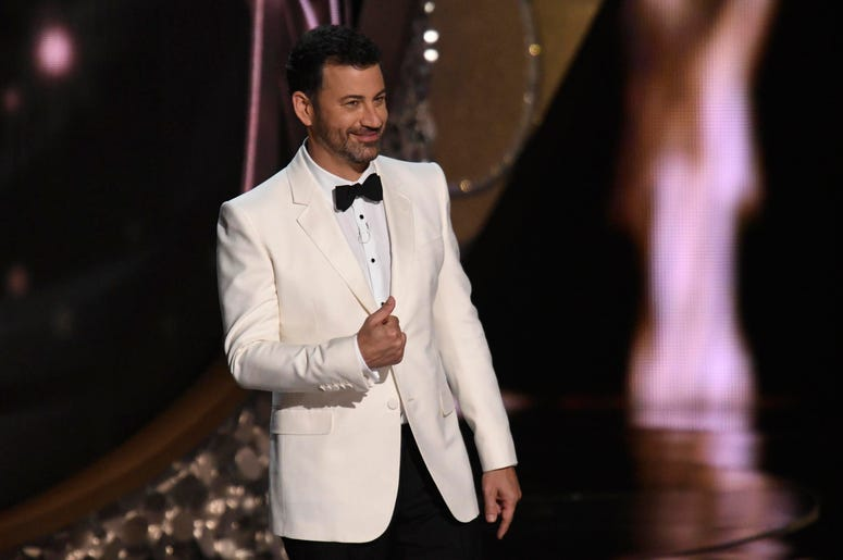 Jimmy Kimmel appears during 68th Emmy Awards