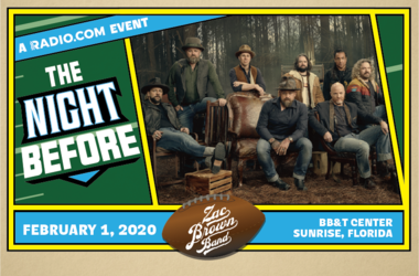 RADIO.COM Presents The Night Before Starring Zac Brown Band