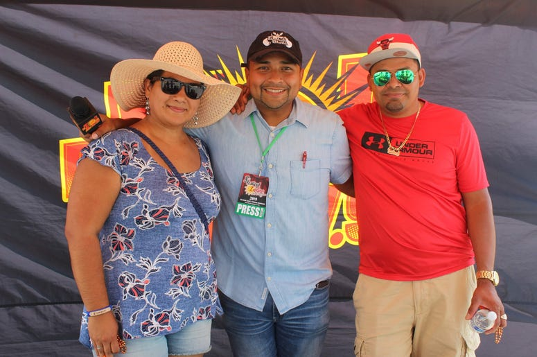 El Zol en el Festival Latino de Maryland