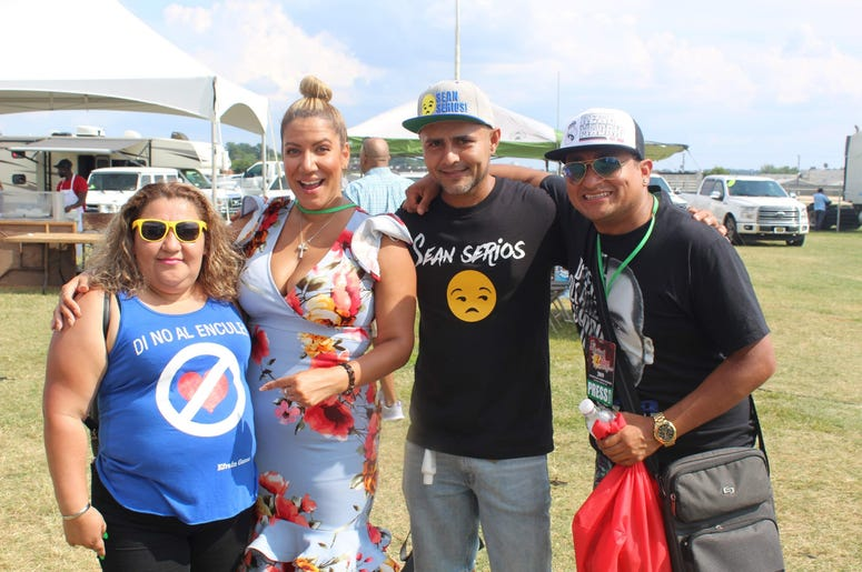 El Zol en el Festival de Maryland