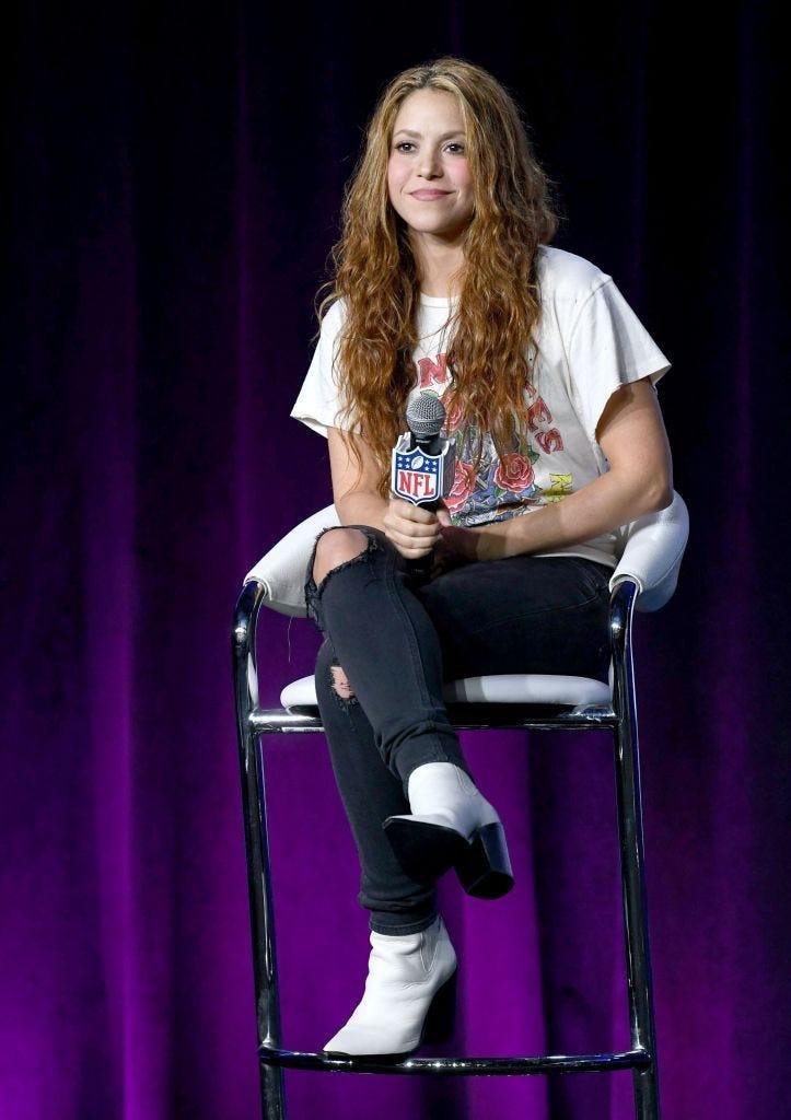 Shakira en Rueda de prensa Enero 30/ 2020