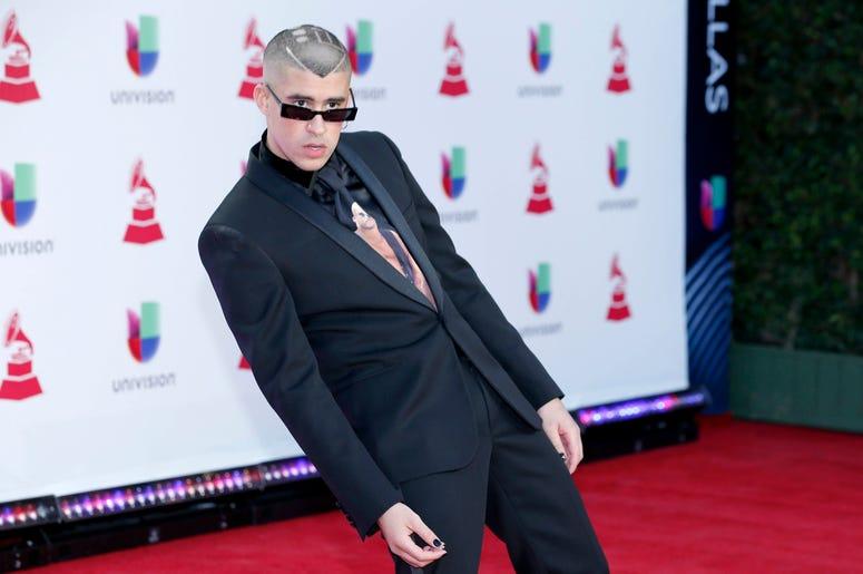 Bad Bunny llega a los Latin Grammy en Las Vegas el 15 de noviembre de 2018. El cantante puertorriqueño actuará en abril en el festival de música de Coachella en Indio, California, anunciaron los organizadores el miércoles 2 de enero del 2019.