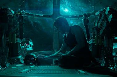 """En esta imagen difundida por Disney, Robert Downey Jr. en una escena de """"Avengers: Endgame"""". (Disney/Marvel Studios vía AP)"""
