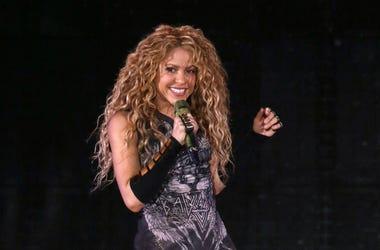En esta foto del 10 de agosto del 2018, Shakira da un concierto en el Madison Square Garden en Nueva York.
