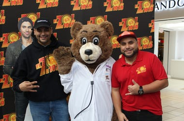 Henry Flo y Dj EZ en Aetna Maryland Better Health