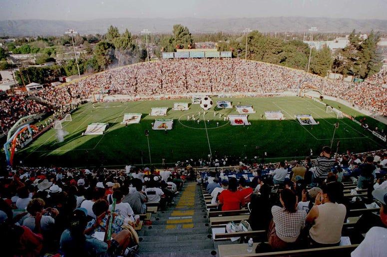 Partido Inaugural Abril 6, 1996