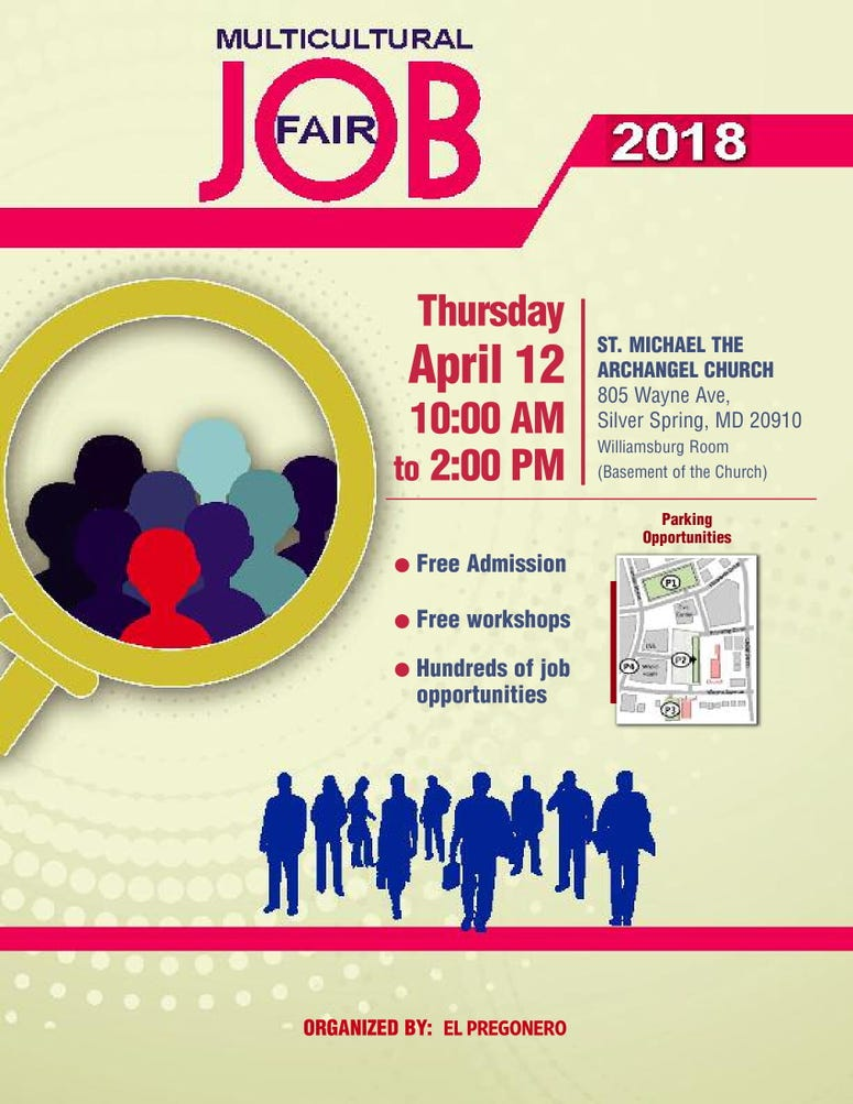 Multicultural Job Fair 2018