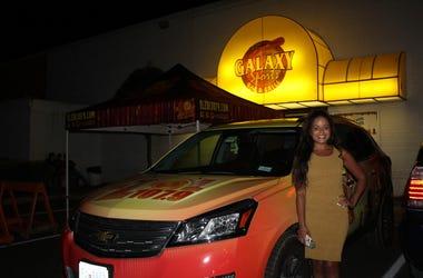 Elsa Sanchez en Galaxy Night Club