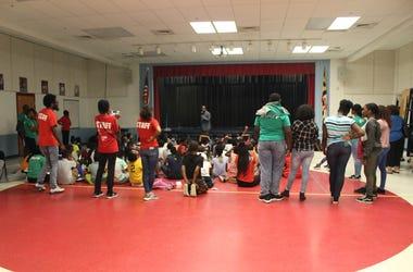El Zol en Galway Elementary School