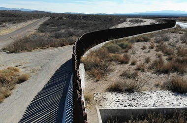 The border wall is seen on January 15, 2019 in Esperanza, Texas. The U.S. government is partially shut down as President Donald Trump is asking for $5.7 billion to build additional walls along the U.S.-Mexico border and the Democrats oppose the idea.