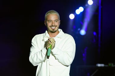 J Balvin performs onstage during Sir Lucian Grainge's 2019 Artist Showcase Presented by Citi at The Row on February 9, 2019 in Los Angeles, California.