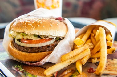 Burger King announced on Monday that it is testing out Impossible Whoppers, made with plant-based patties from Impossible Foods, in 59 locations in and around St. Louis area.