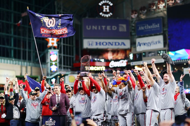 Washington Nationals World Series Champs 2019