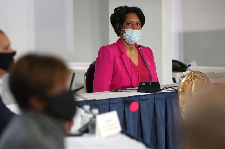 Alcaldesa Muriel Bowser
