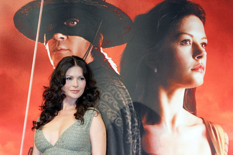 Actress Catherine Zeta-Jones attends a press conference promoting her film 'The Legend of Zorro' on January 16, 2006 in Tokyo, Japan. The film was directed by Martin Campbell and will open on January 21 in Japan.