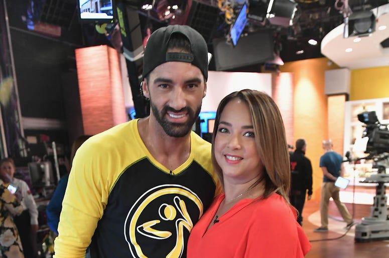 Toni Costa and Adamari Lopez attends the DM3 - Press Day Miami - Un Nuevo Dia on June 27, 2017 in Hialeah, Florida.