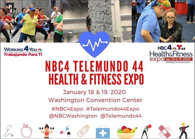 Nbc4 Telemundo 44 Health & Fitness Expo