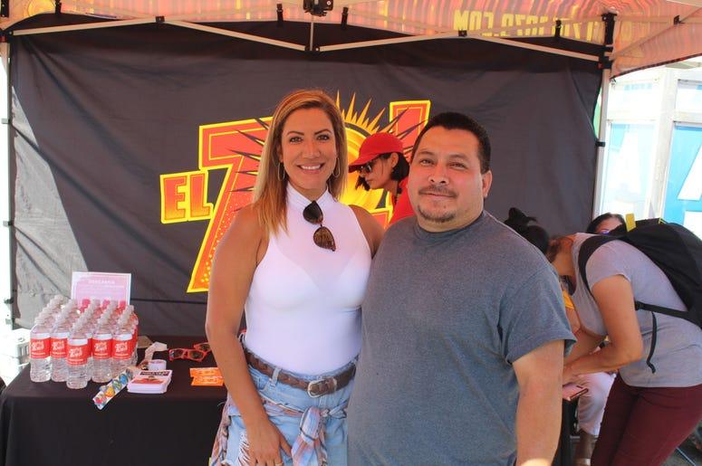 Patricia De Lima en el Montgomery County Agricultural Fair