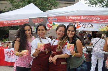 El Zol en Taste of Peru