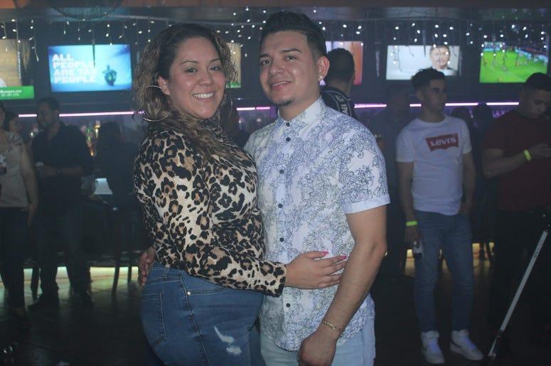 Patricia De Lima en Galaxy Night Club