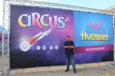Juan El Poderoso Junto a Circo Hermanos Vazquez