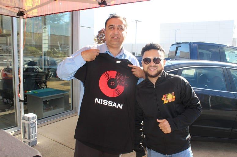 Dj Danny en Passport Nissan Alexandria