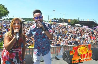 Patricia De Lima y JR Al Aire en Verano Zol 2019