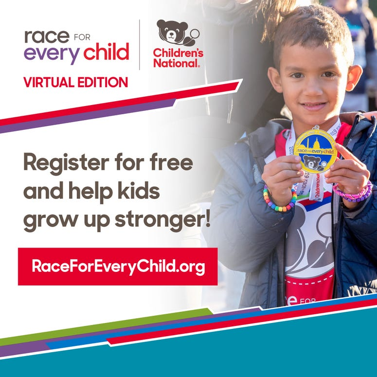 Race for Every Child Ad