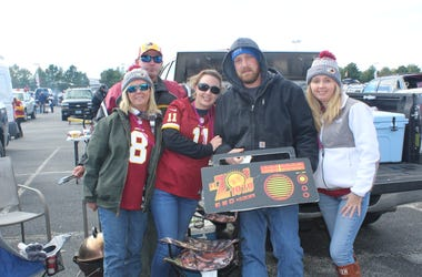 El Zol Deportes en el Tailgate de los Redskins