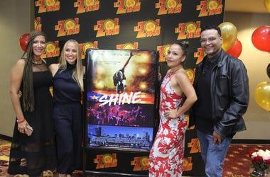 Patricia De Lima en el Estreno de La Pelicula Shine